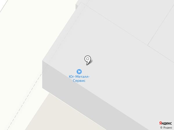 Юг-Металл-Сервис на карте Армавира