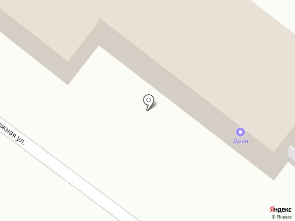 Товарный двор на карте Армавира