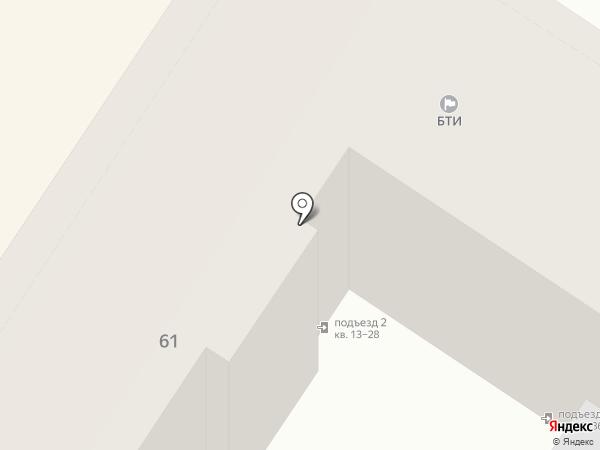 Крайинвестбанк на карте Армавира