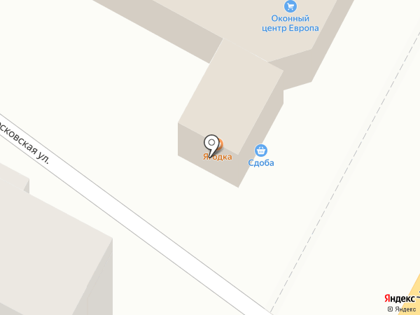Ягодка на карте Армавира