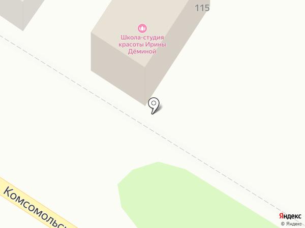 Мотико на карте Армавира