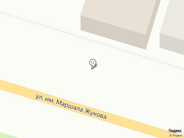 Монтёр на карте Армавира