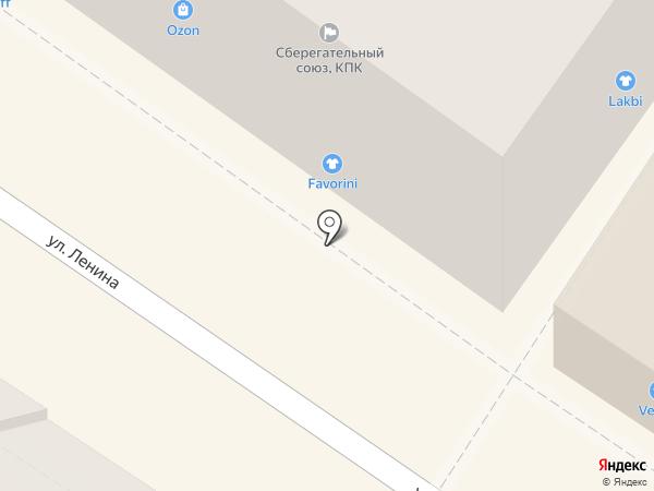 Favorini на карте Армавира