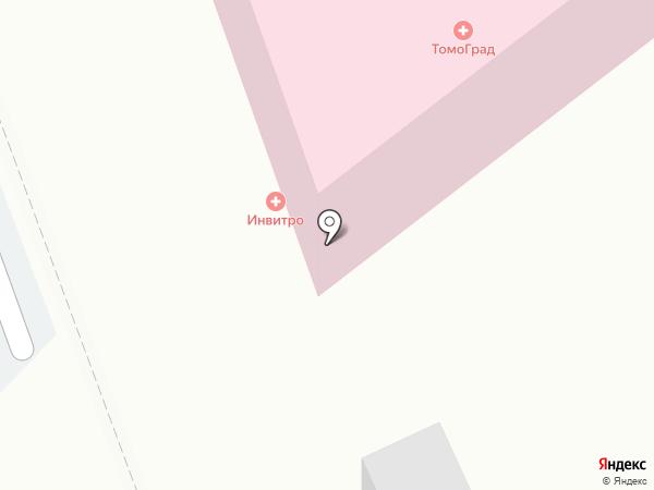 Томоград на карте Армавира