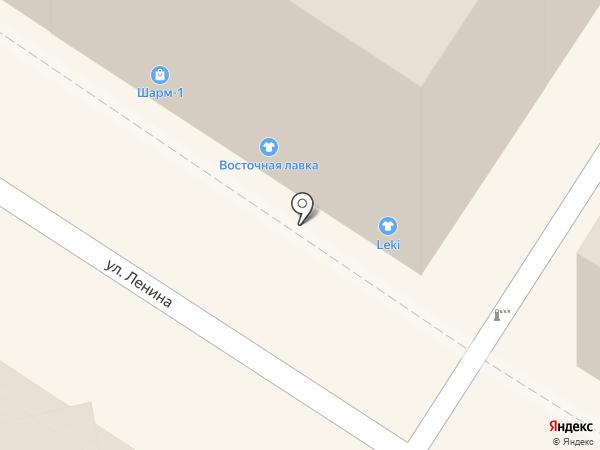 Шарм-1 на карте Армавира