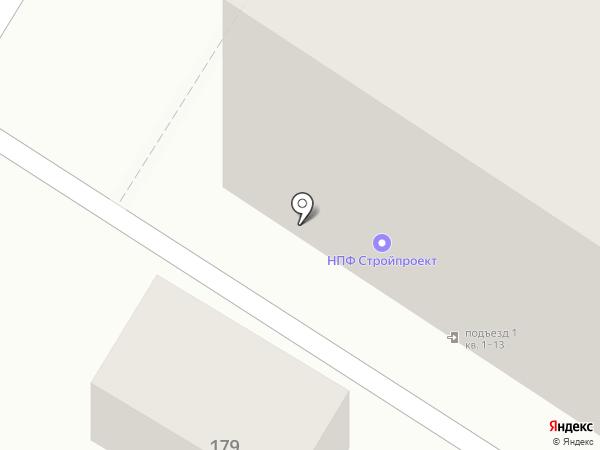 Стройпроект, НП на карте Армавира