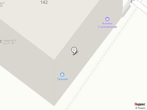 Техком на карте Армавира