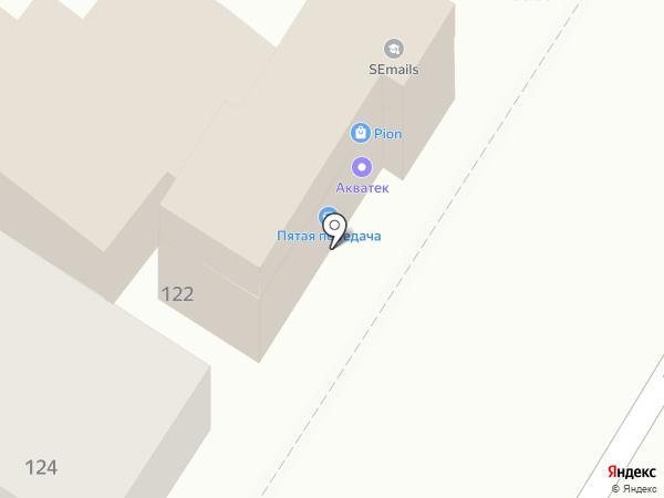 Акватек на карте Армавира