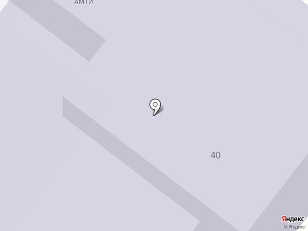 АМТИ на карте Армавира