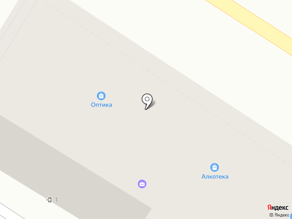Оптика на карте Армавира