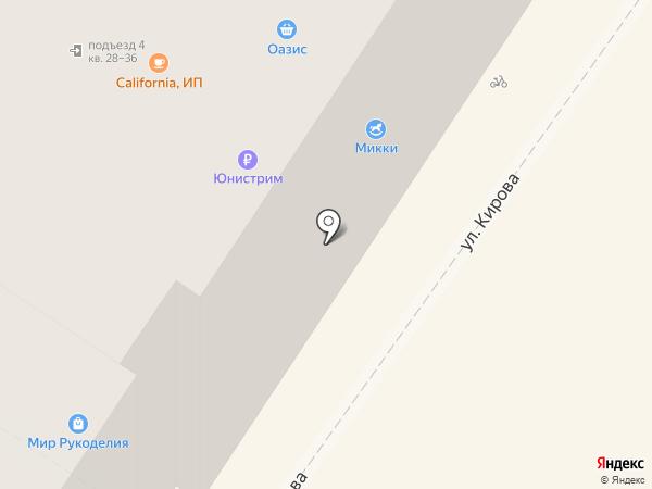 Микки на карте Армавира