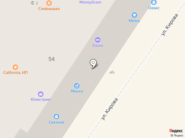 Слоёнышко на карте Армавира