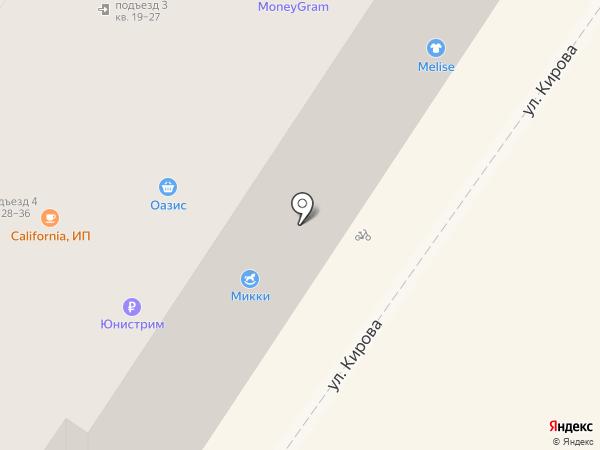 Корица на карте Армавира
