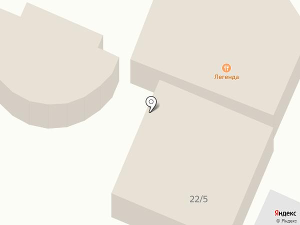 Легенда на карте Армавира