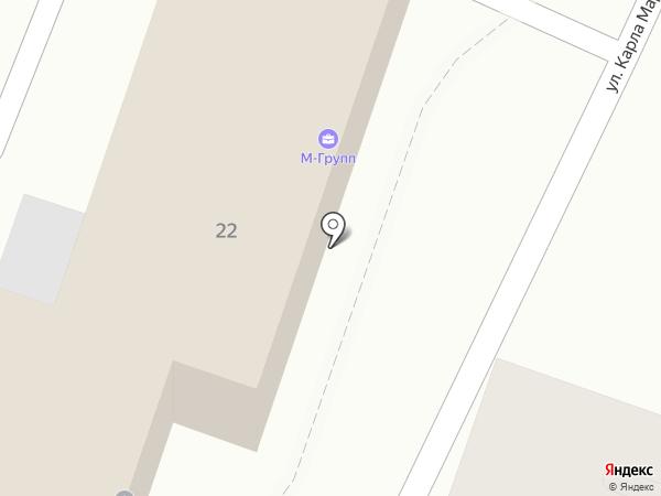 М-Групп на карте Армавира