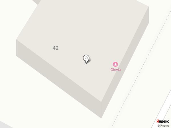 Олевия на карте Армавира