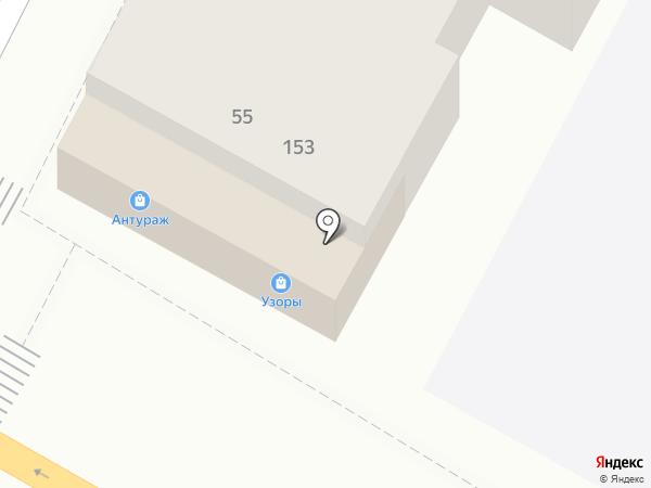 Антураж на карте Армавира