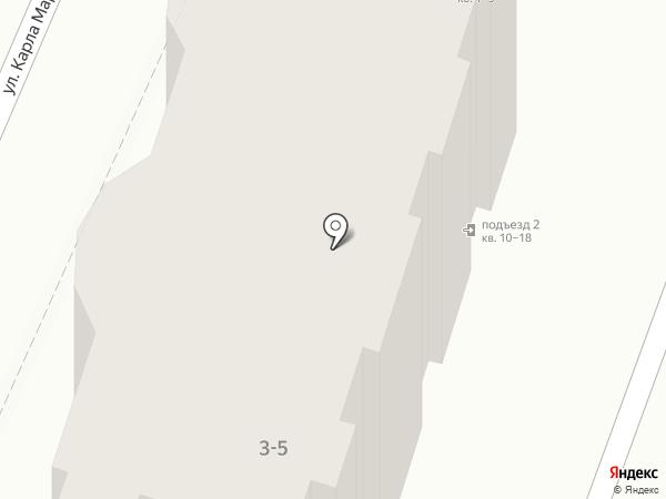 Иволга на карте Армавира