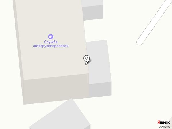 Служба автогрузоперевозок на карте Заветного