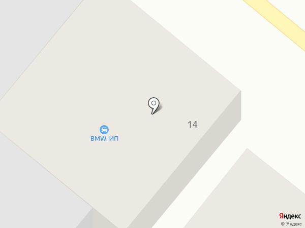 BMW на карте Заветного