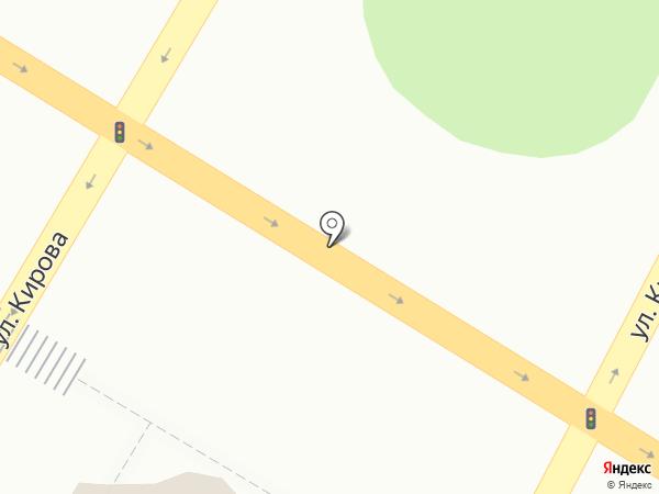 Красный конь на карте Армавира