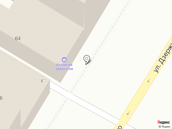 Адвокатский кабинет Запевалова Л.В. на карте Армавира