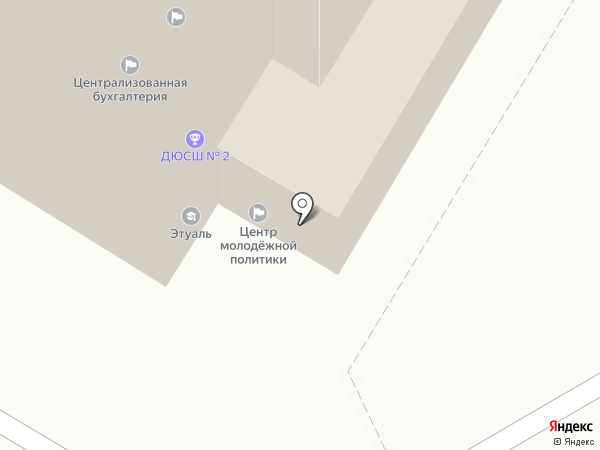 Армавир ТВ на карте Армавира