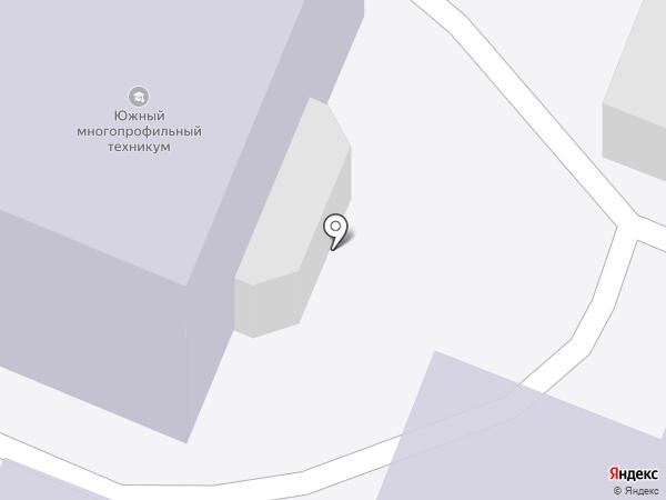 Южный многопрофильный техникум, ЧПОУ на карте Армавира
