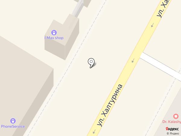 Магазин хлебобулочных изделий на карте Армавира