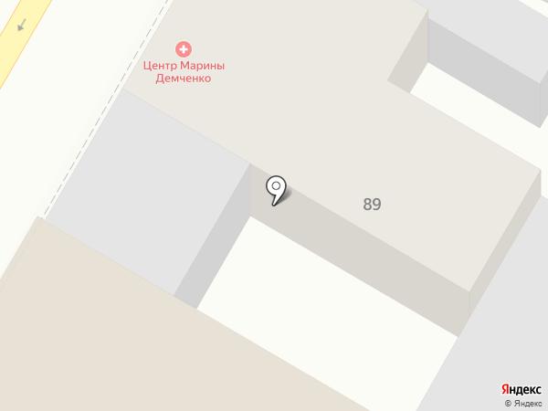 Озеленитель, МП на карте Армавира