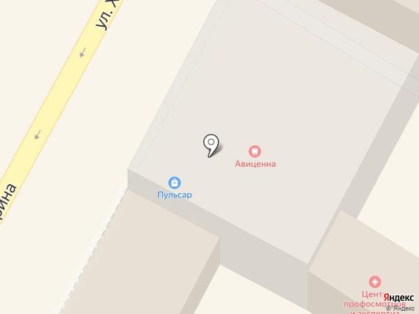 Дриада на карте Армавира