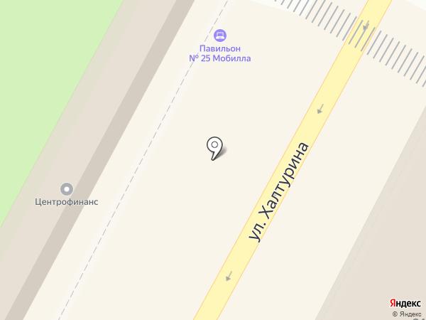 Мобилла на карте Армавира