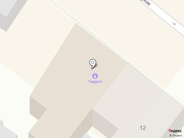 TAGGSM на карте Армавира