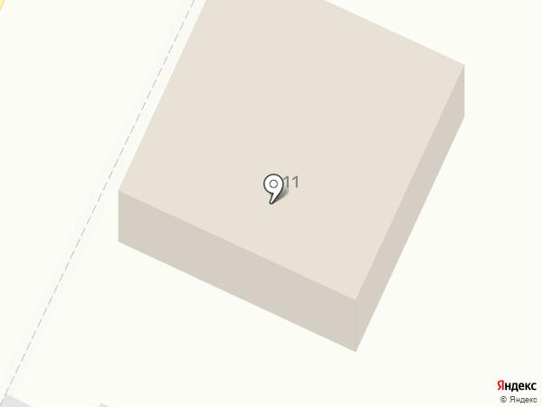 Военный комиссариат г. Армавира на карте Армавира