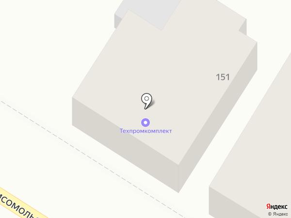 Техпромкомплект на карте Армавира