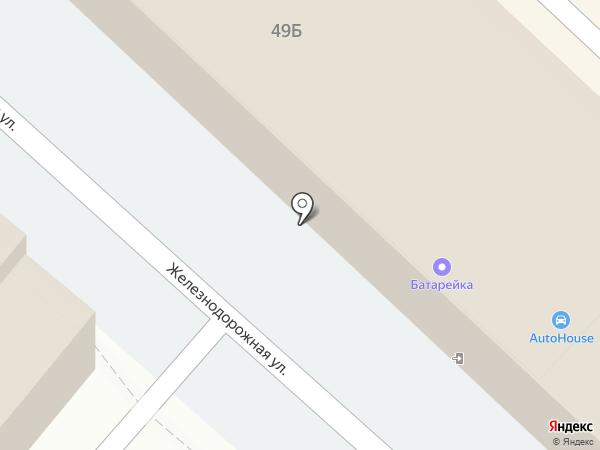 Протектор на карте Армавира