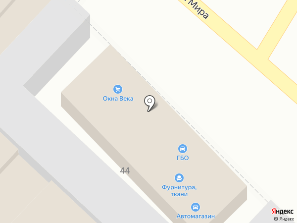 ВЕКА на карте Армавира