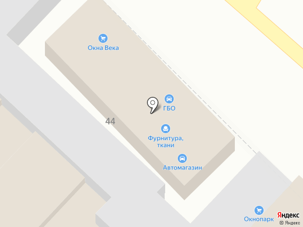 Окнопарк на карте Армавира