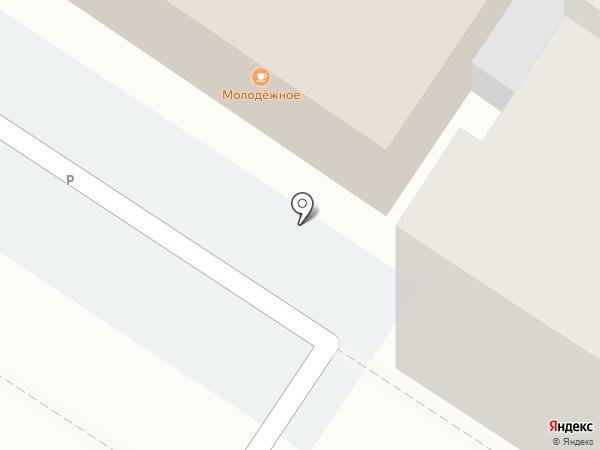Молодежное на карте Армавира