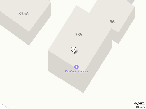 Скорая холодильная помощь на карте Армавира