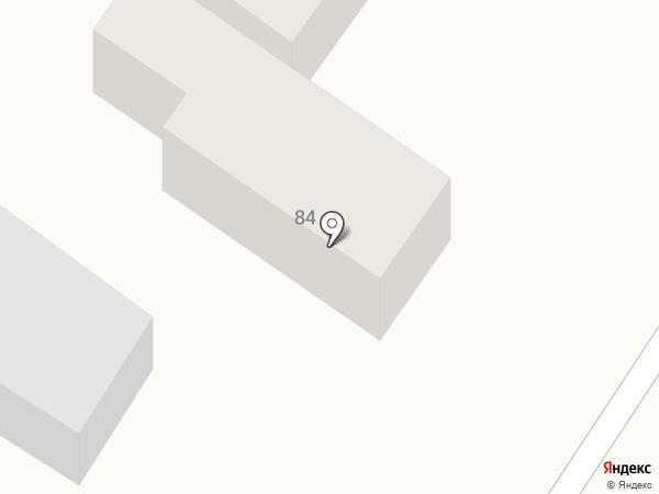 Автобаза на карте Армавира