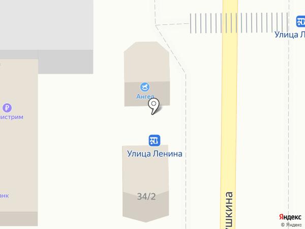Лилия на карте Заветного