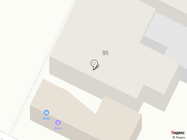 ALEX на карте Армавира