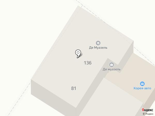 Де`Муазель на карте Армавира