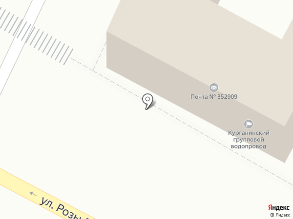 Курганинский групповой водопровод, ГУП на карте Армавира
