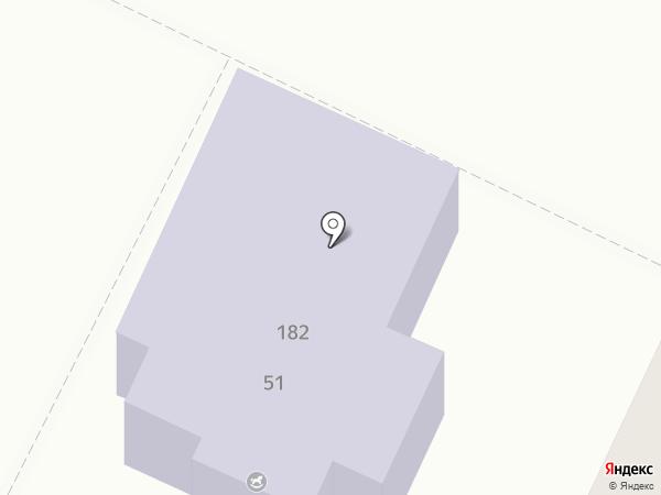 Детский сад №54, Буратино на карте Армавира