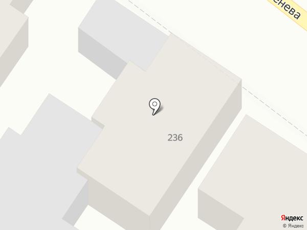 Фабрика мебели на карте Армавира