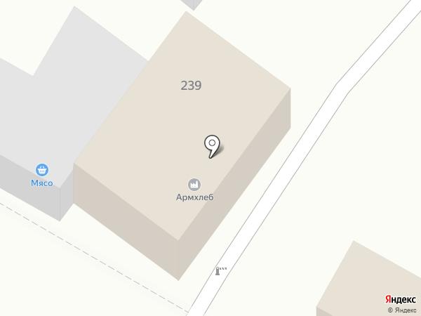 Армхлеб на карте Армавира