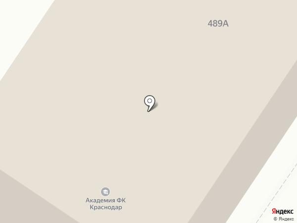 Футбольная академия на карте Армавира