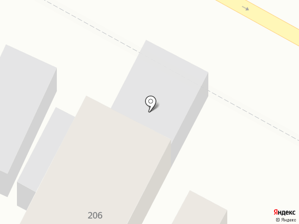 Капелька на карте Армавира